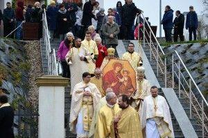 Uroczystość zamknięcia Bramy Miłosierdzia w Olsztyńskiej Greckokatolickiej Cerkwi